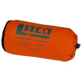 LACD Bivy Bag Light II Retkeily , harmaa/oranssi